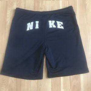 Nike Spellout Back Logo Basketball Shorts Blue